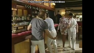 Sexy lady has a fuck in a bar