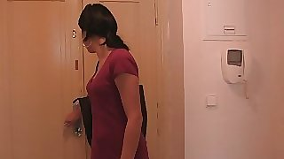 He finds his hotwife girlfriend with brother