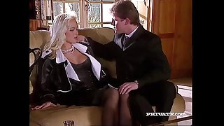 Silvia Saint Fucks the Lawyer and Drains His Cum