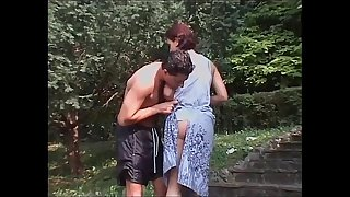 He picks up and fuck a girl after a nice swim